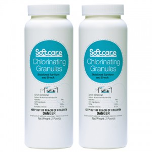 Softcare Chlorinating Granules - 2 X 2 lbs.