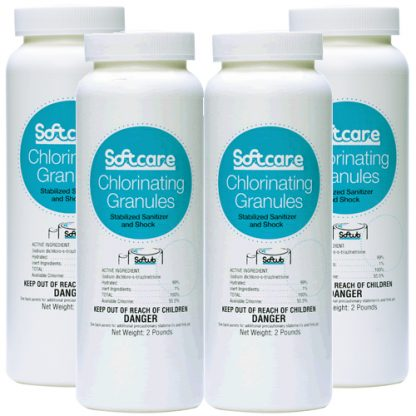 Softcare Chlorinating Granules - 4 X 2 lbs.
