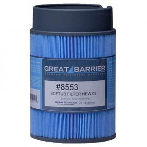 Great Barrier Microban Filter 8553 For July, 2009 Softub Or Newer