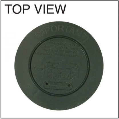 (5020) Filter for 6/09 Softub or newer - P/N 2003905 Top View