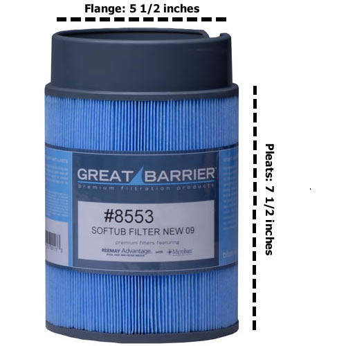 8553 / 5020 Filter For Newer Softubs