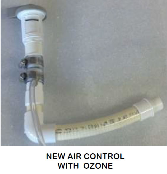 New Softub Air Control With Ozone
